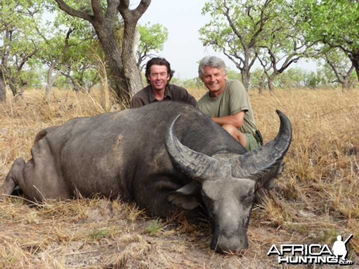 Hunter and Writer J. Alain Smith West African Buffalo