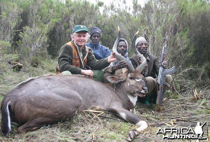 Hunter and Writer J. Alain Smith Mountain Nyala