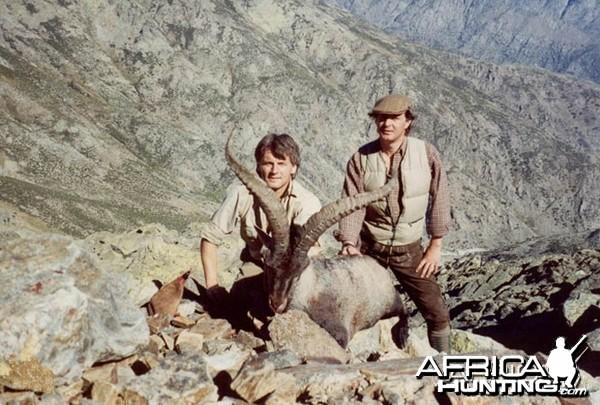 Hunter and Writer J. Alain Smith Gredos Ibex