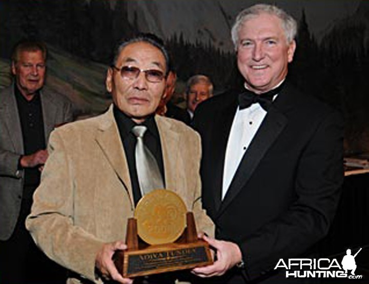 Adiya Tundev 2008 The Legend Award Winner, Grand Slam Club, Ovis