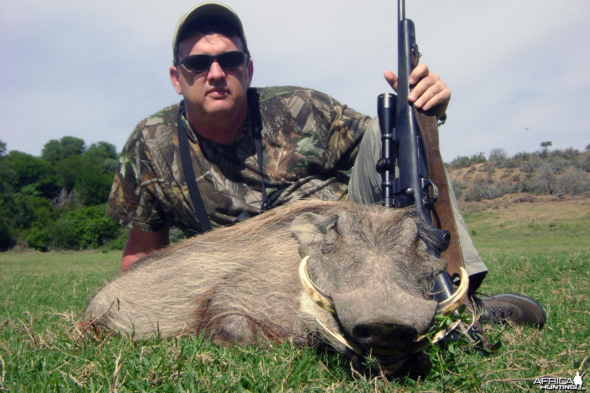 Warthog hunt Eastern Cape SA
