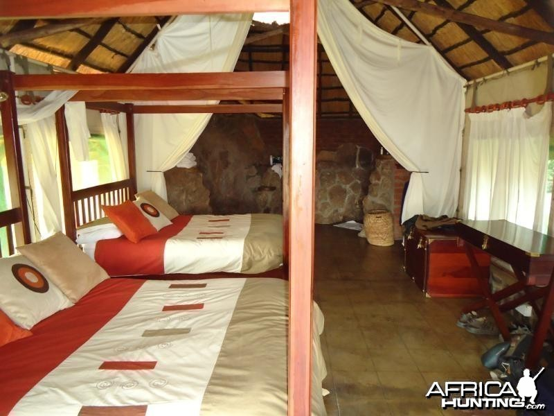 Our room at Touch Africa Safaris