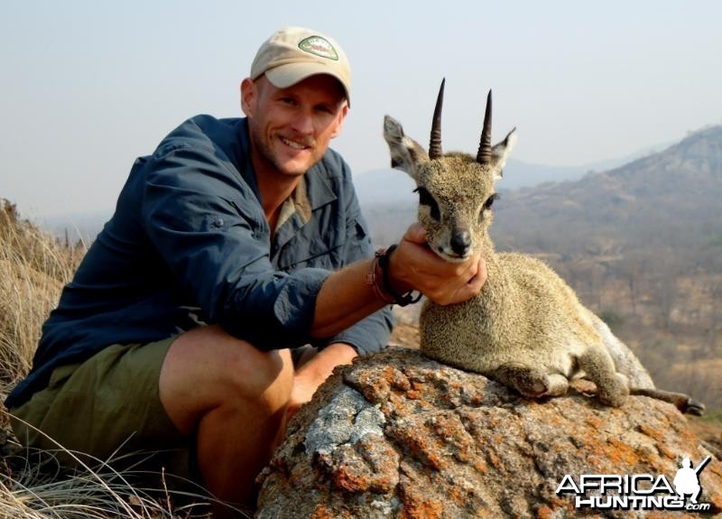 Klipspringer hunted in Zimbabwe