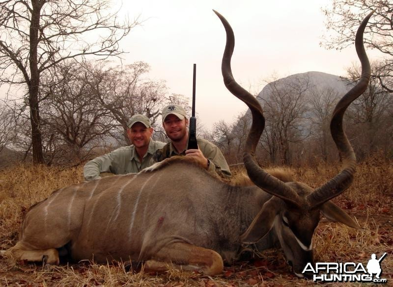 Kudu hunted in Zimbabwe