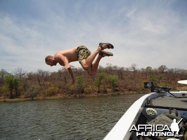 Fishing in Zimbabwe