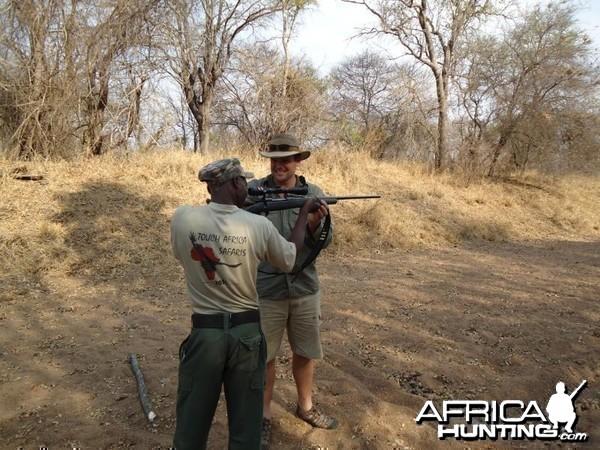 Shooting Olympics in Zim