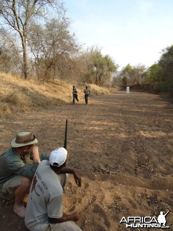 Shooting Olympics in Zim