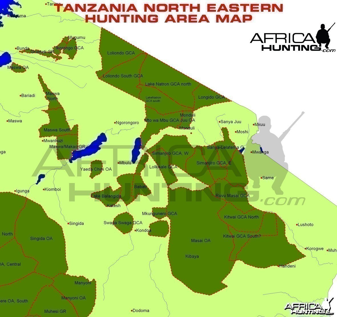Hunting Areas of North Eastern Tanzania