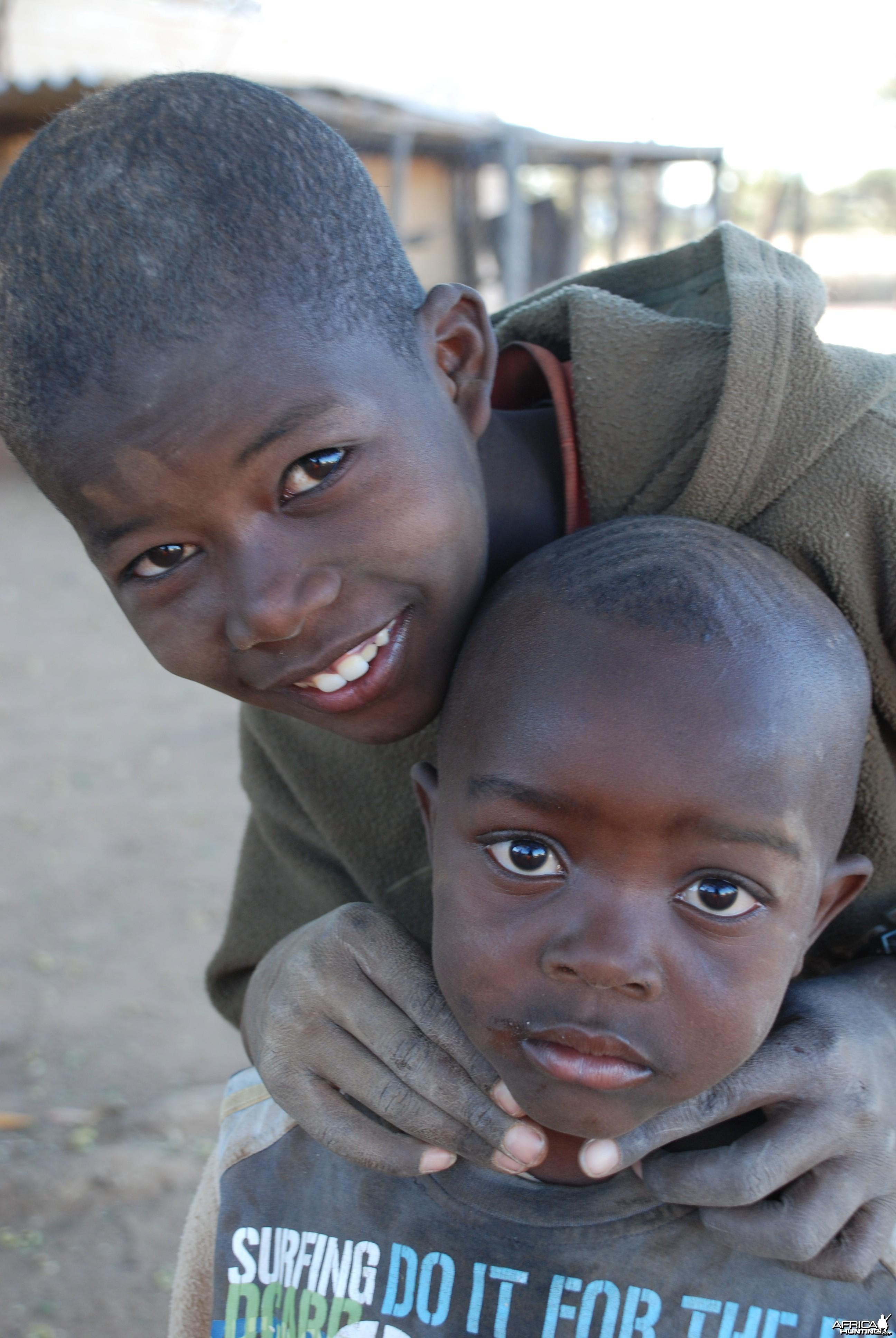Kids, Namibia