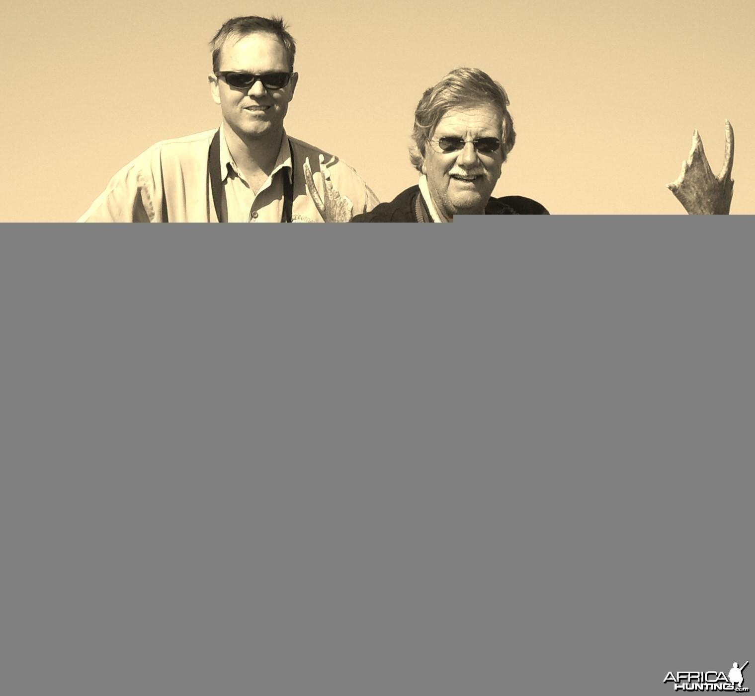 Fallow Deer shot in Mpumalanga RSA