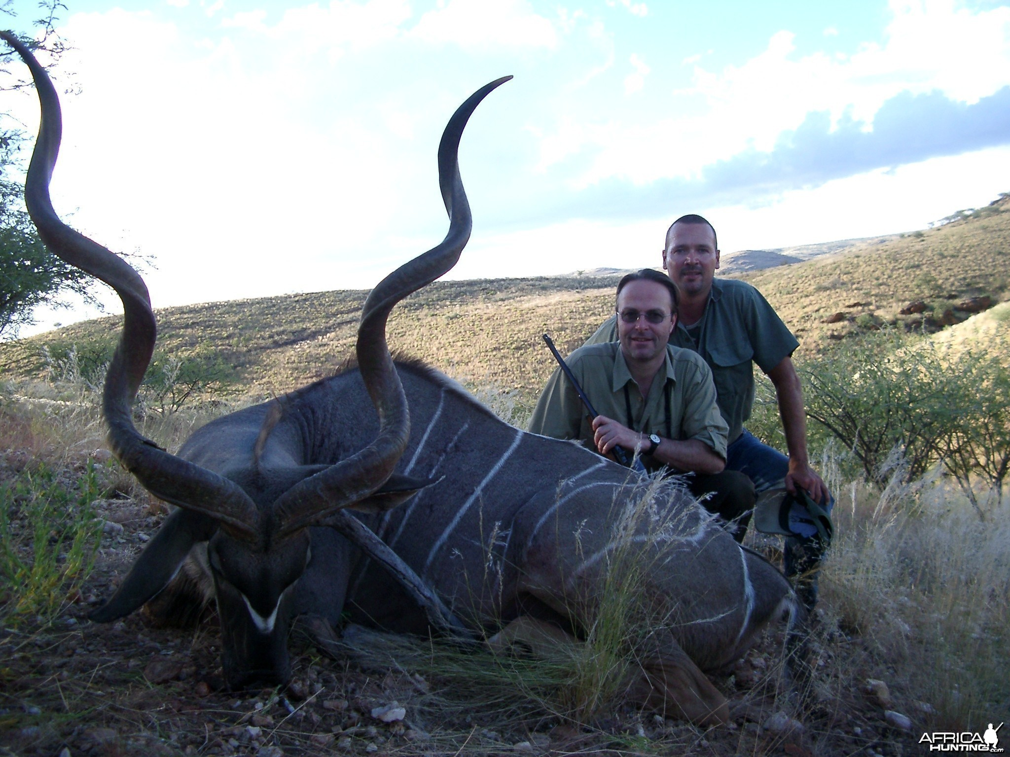 Kudu Hunt - Lindenhof Safaris