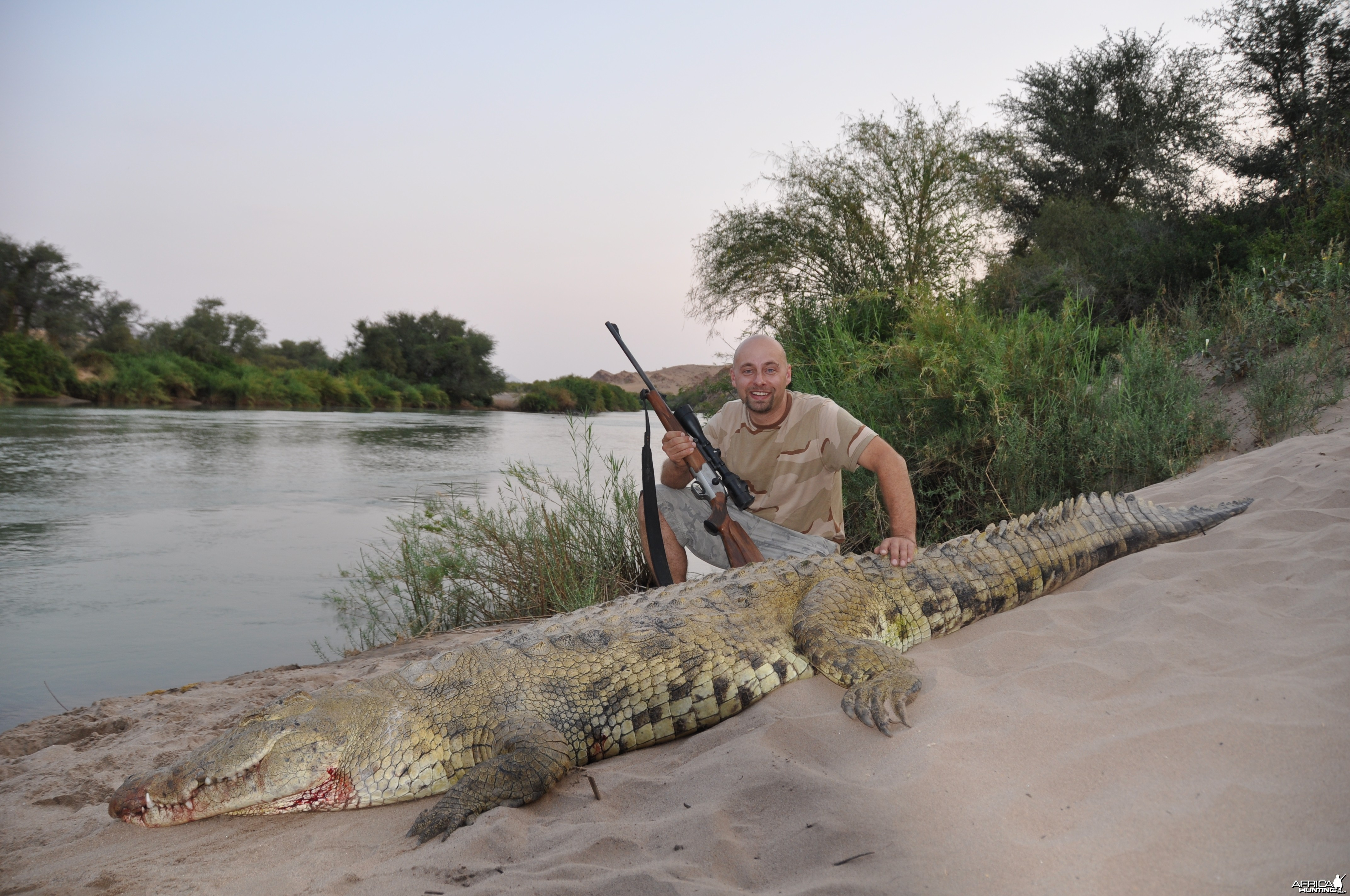 Croc Hunt -Lindenhof Safaris