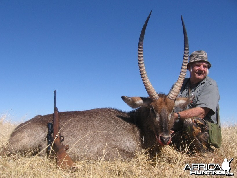 Ted's 31.5 inch waterbuck