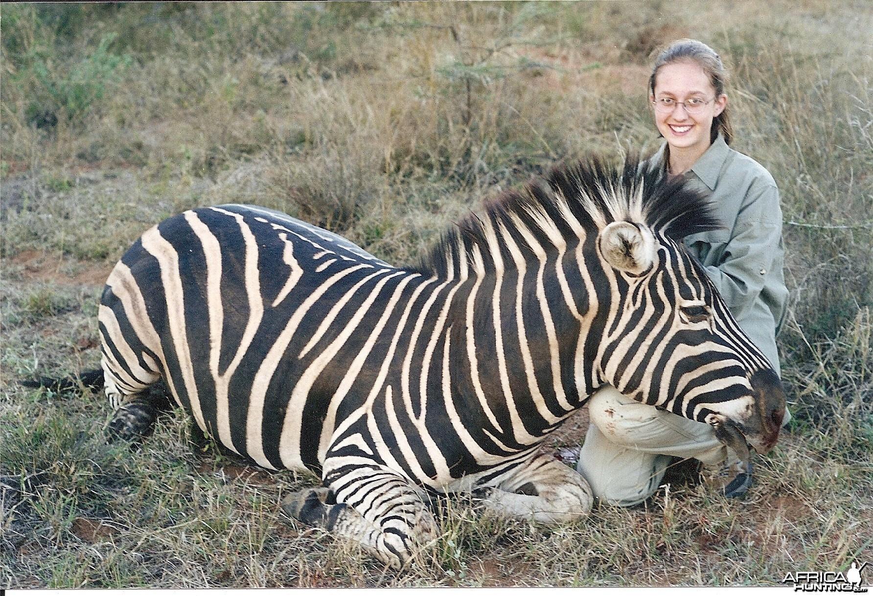 Becky & Zebra