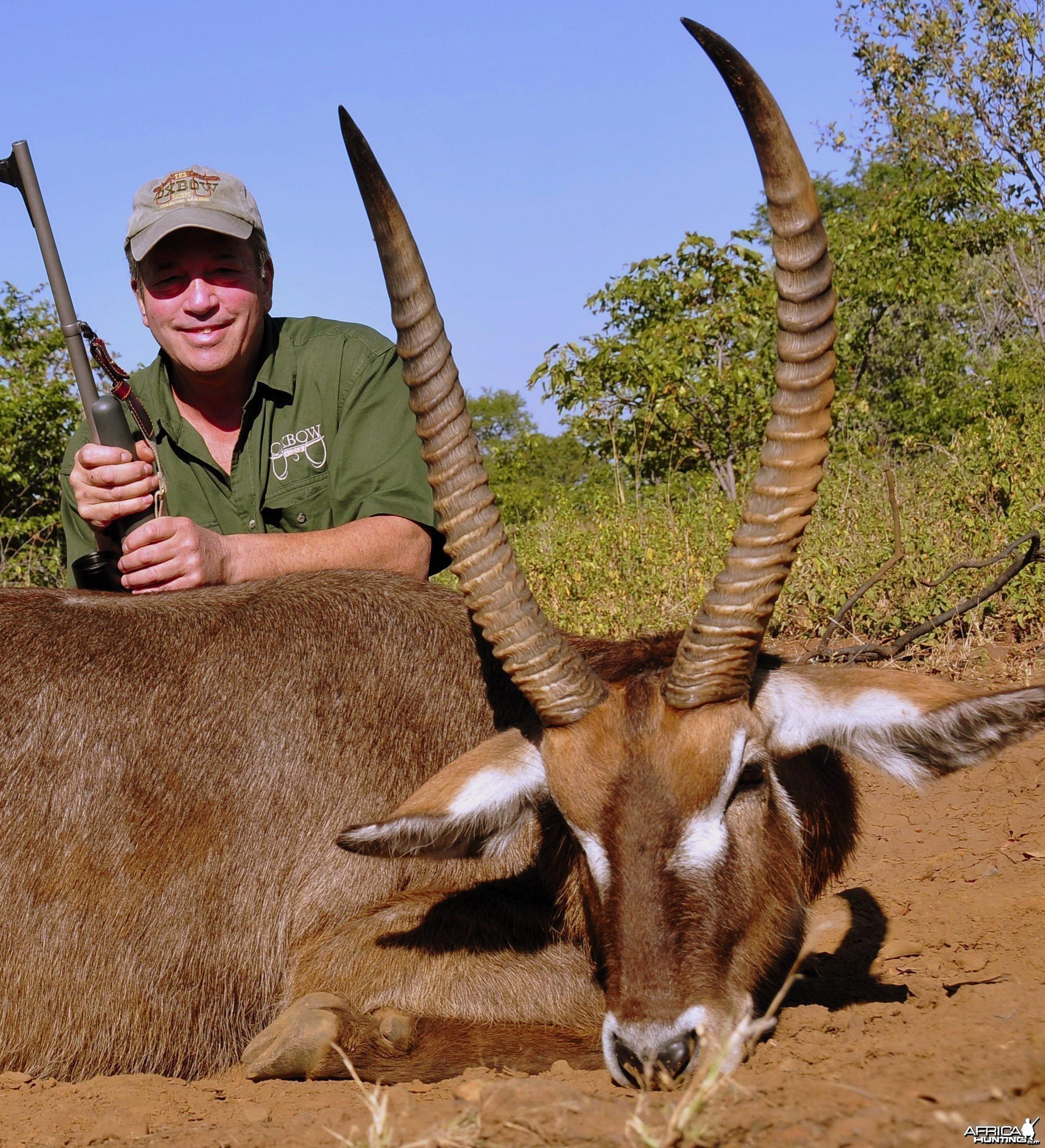 Waterbuck Bull taken in Zimbabwe