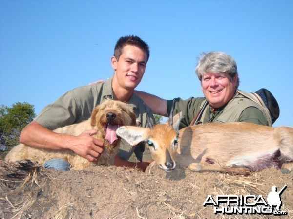 Steenbok hunted in South Africa