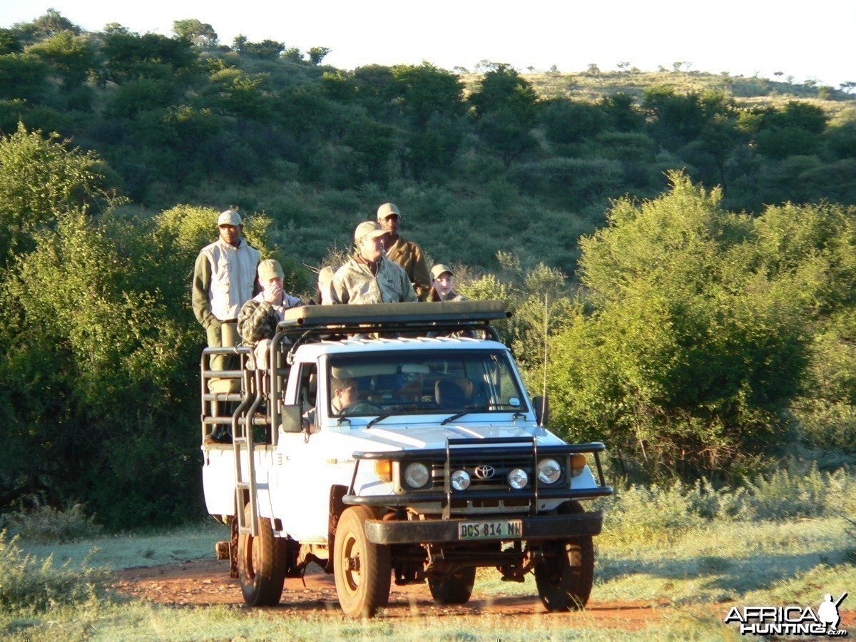 Land Cruiser Hunting Vehicle