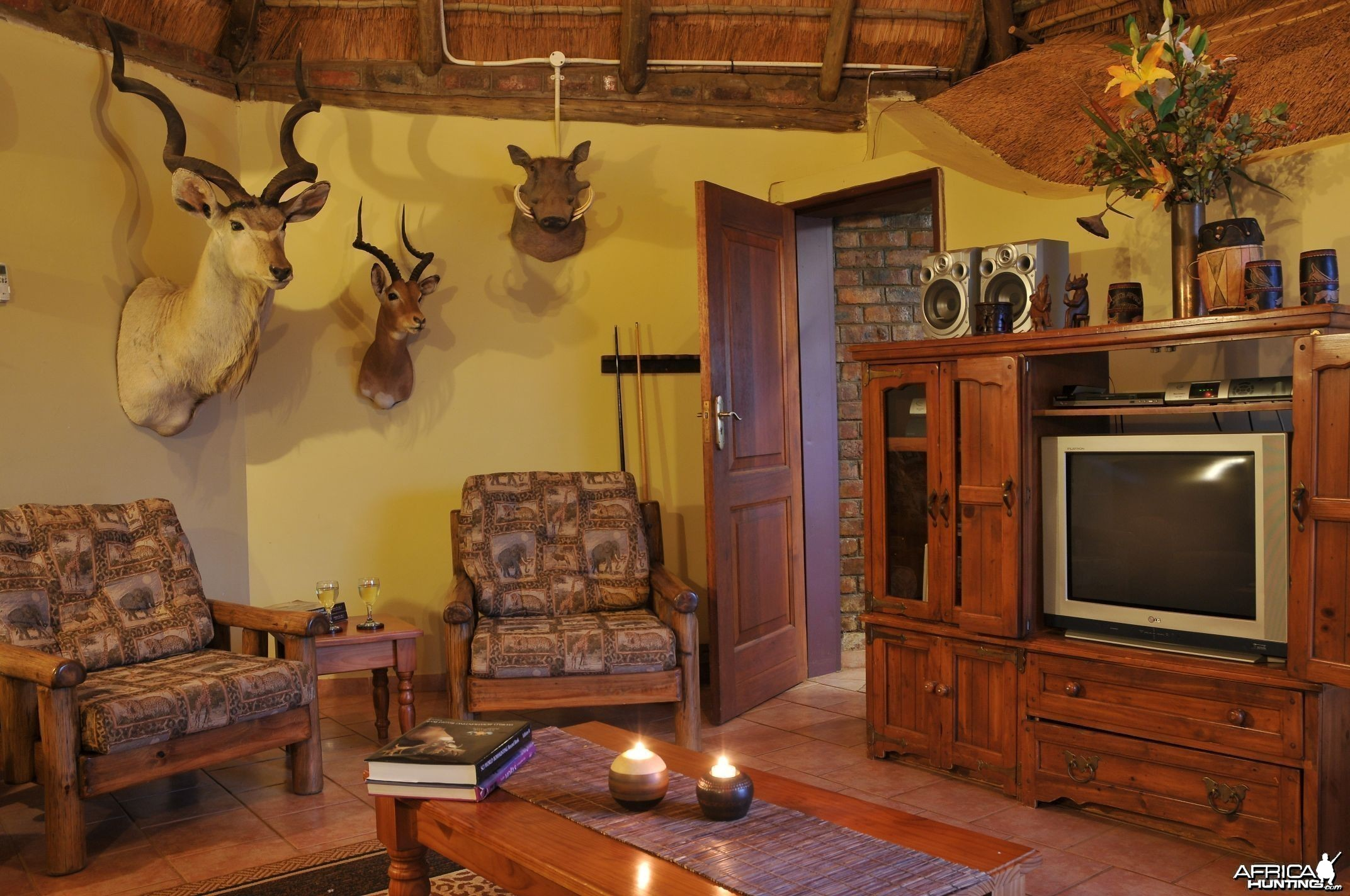 Hartzview Hunting Safaris Base Camp