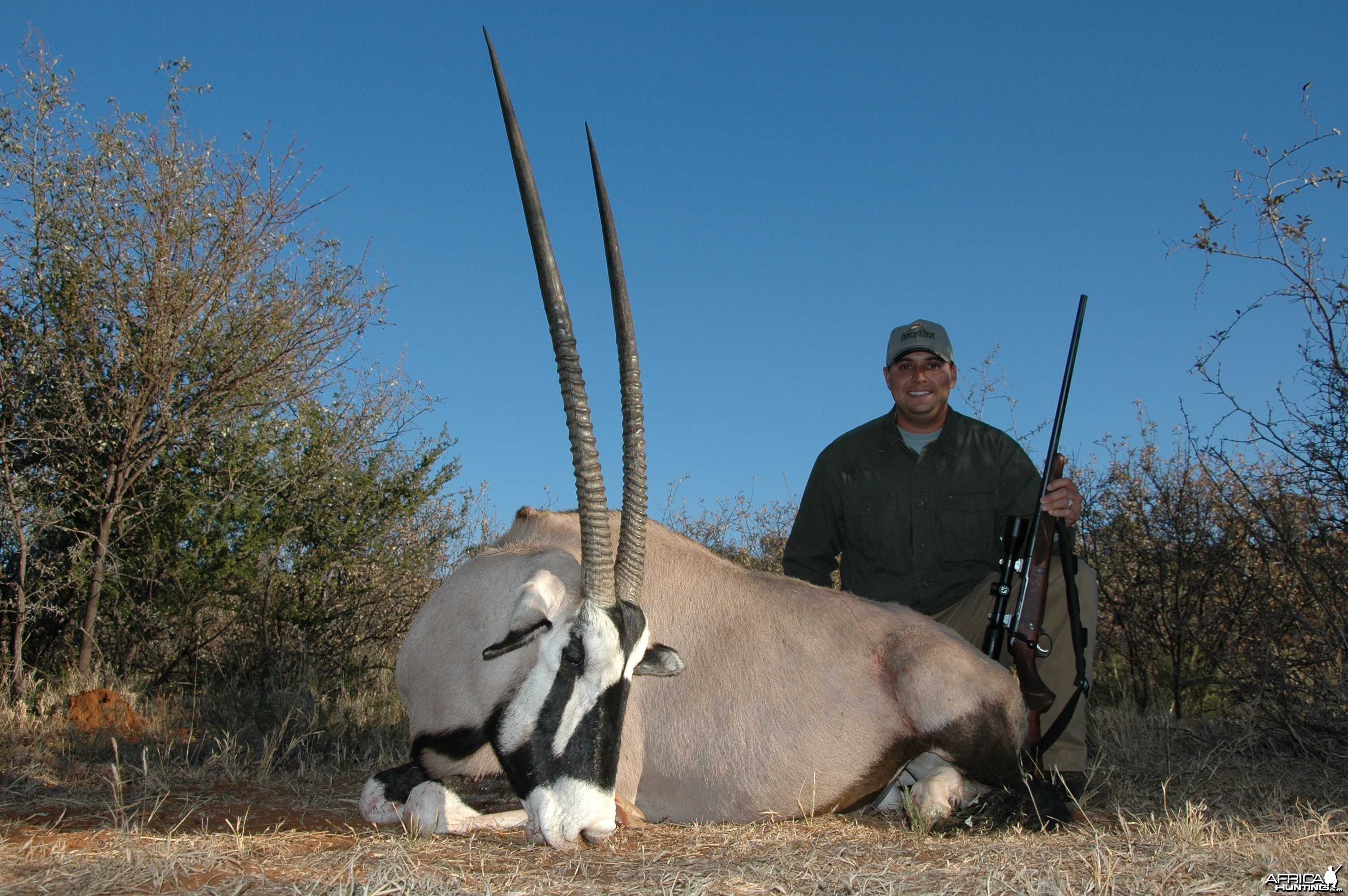 Gemsbok hunted with Hartzview Hunting Safaris