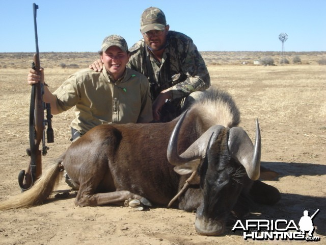 Black Wildebeest Hunt