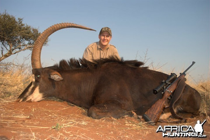 Hunting Sable with Spiral Horn Safaris