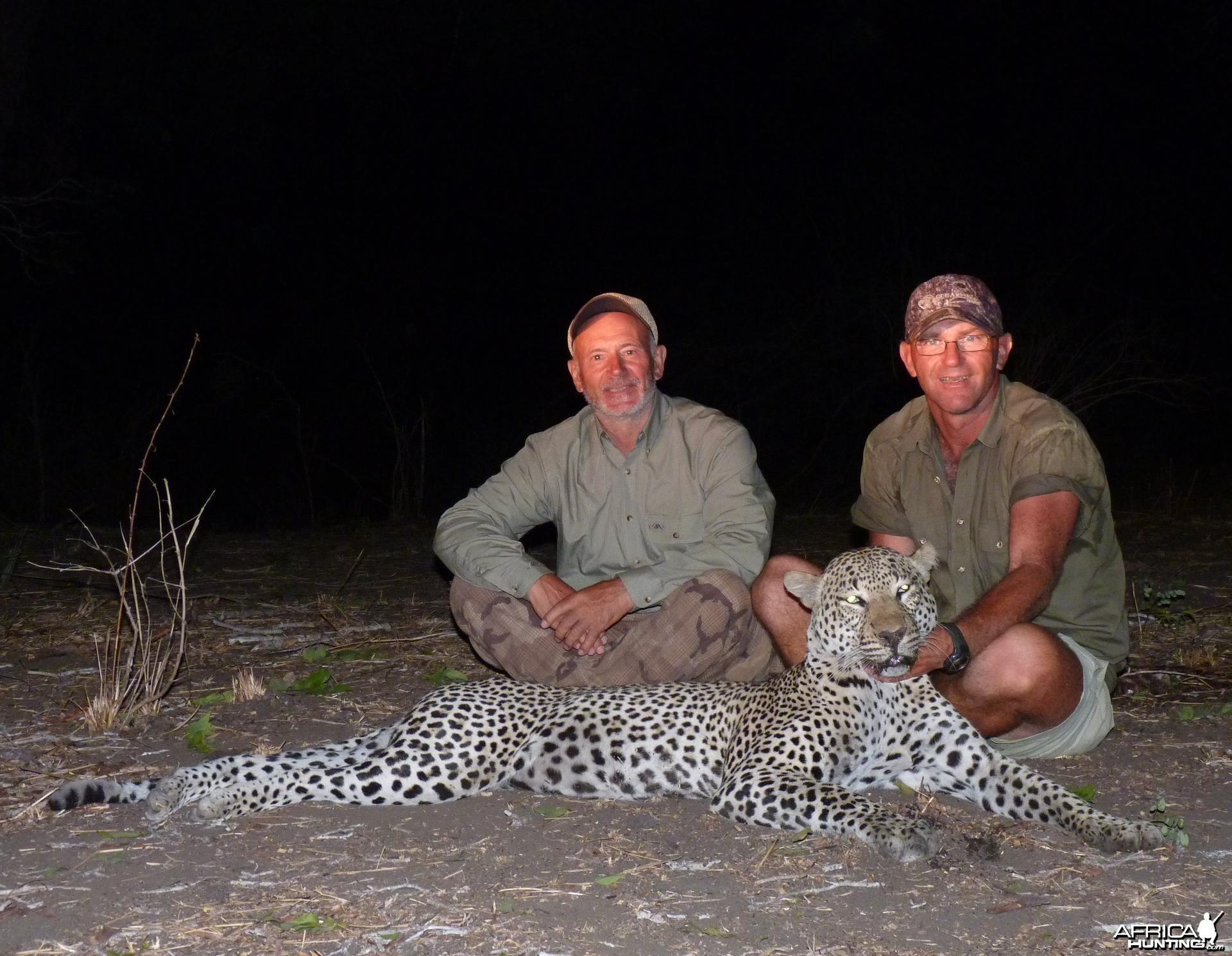 Hunting Leopard in Tanzania