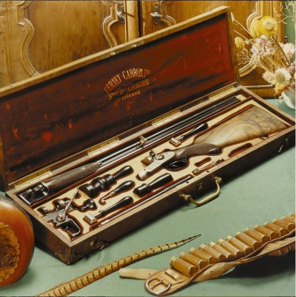 19th century Verney-Carron rifle box, circa 1880.jpg