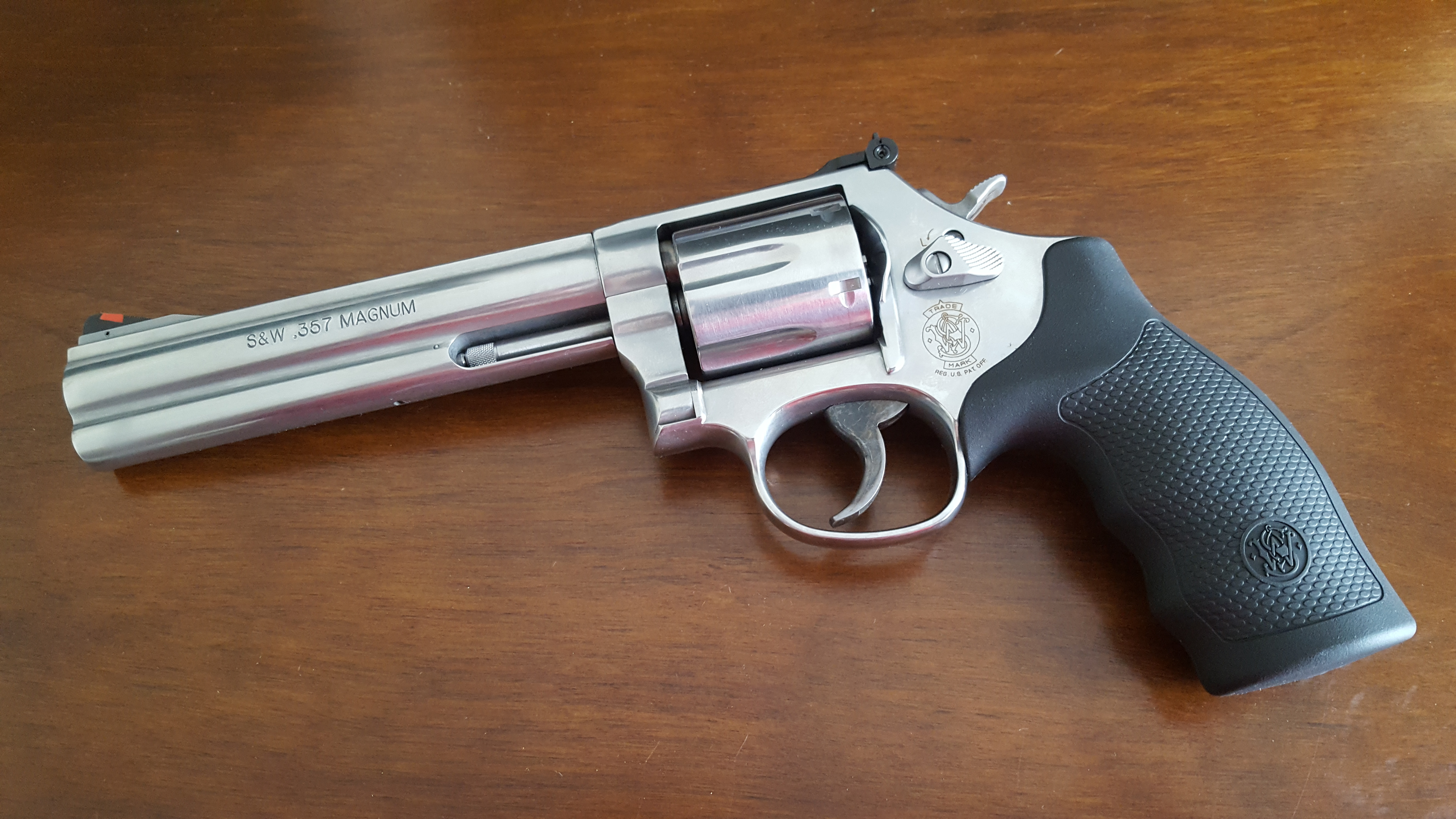 I Just Acquired A Smith Wesson 686 Revolver Chambered In 357 Magnum Ive Owned And Fired Many Handguns But Never