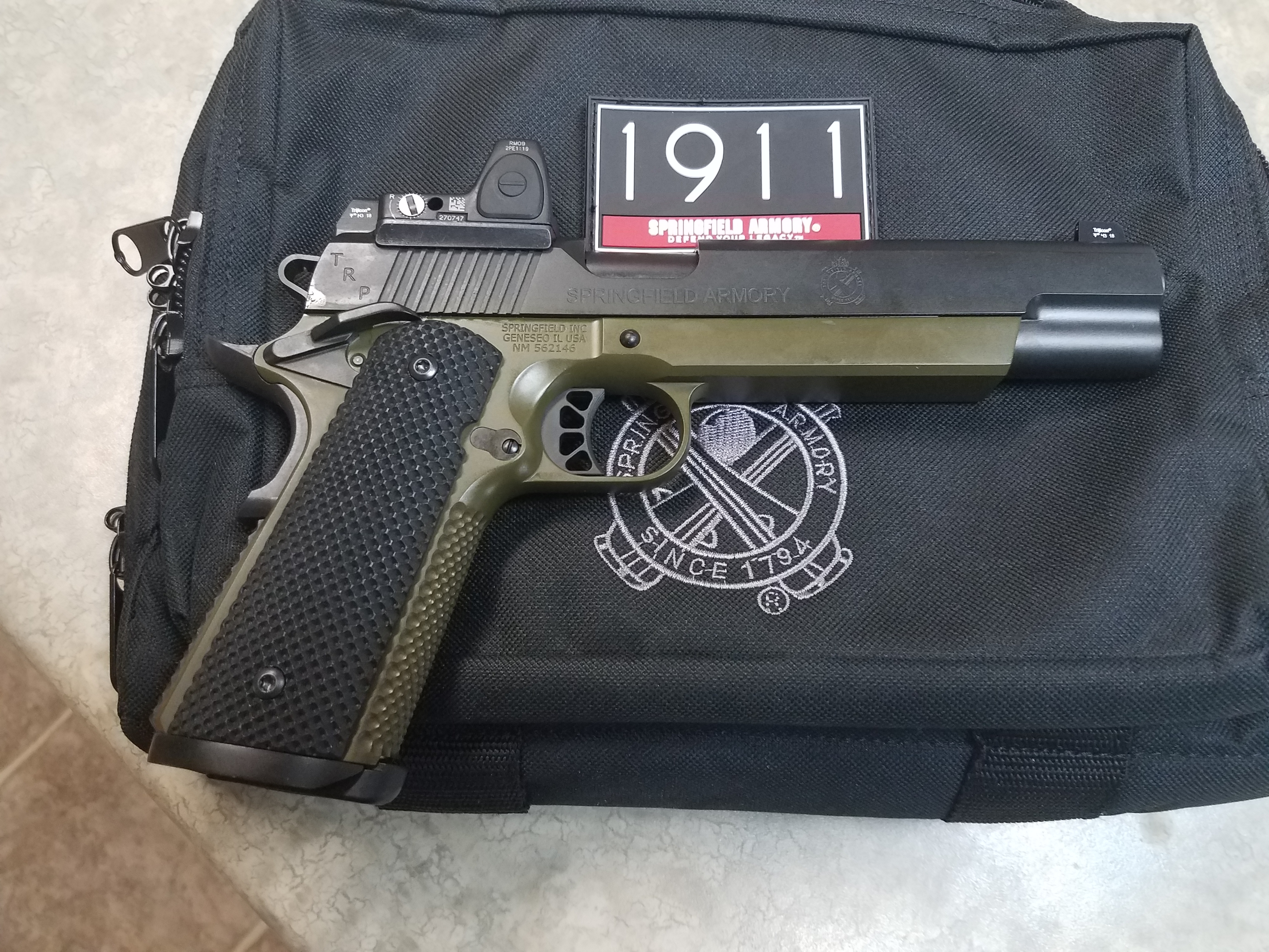 Springfield Armory TRP RMR 10mm Pistol For Sale   Hunting