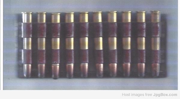 Allen Basic Buttstock Shell Holder for Rifles Holds 9 Cartridges Attaches Firmly