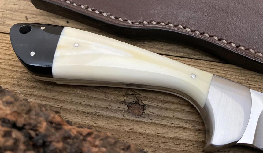 _0031_DAG 017 - Dagga 2020 - Warthog tusk.Buffalo horn - Back close up.jpg