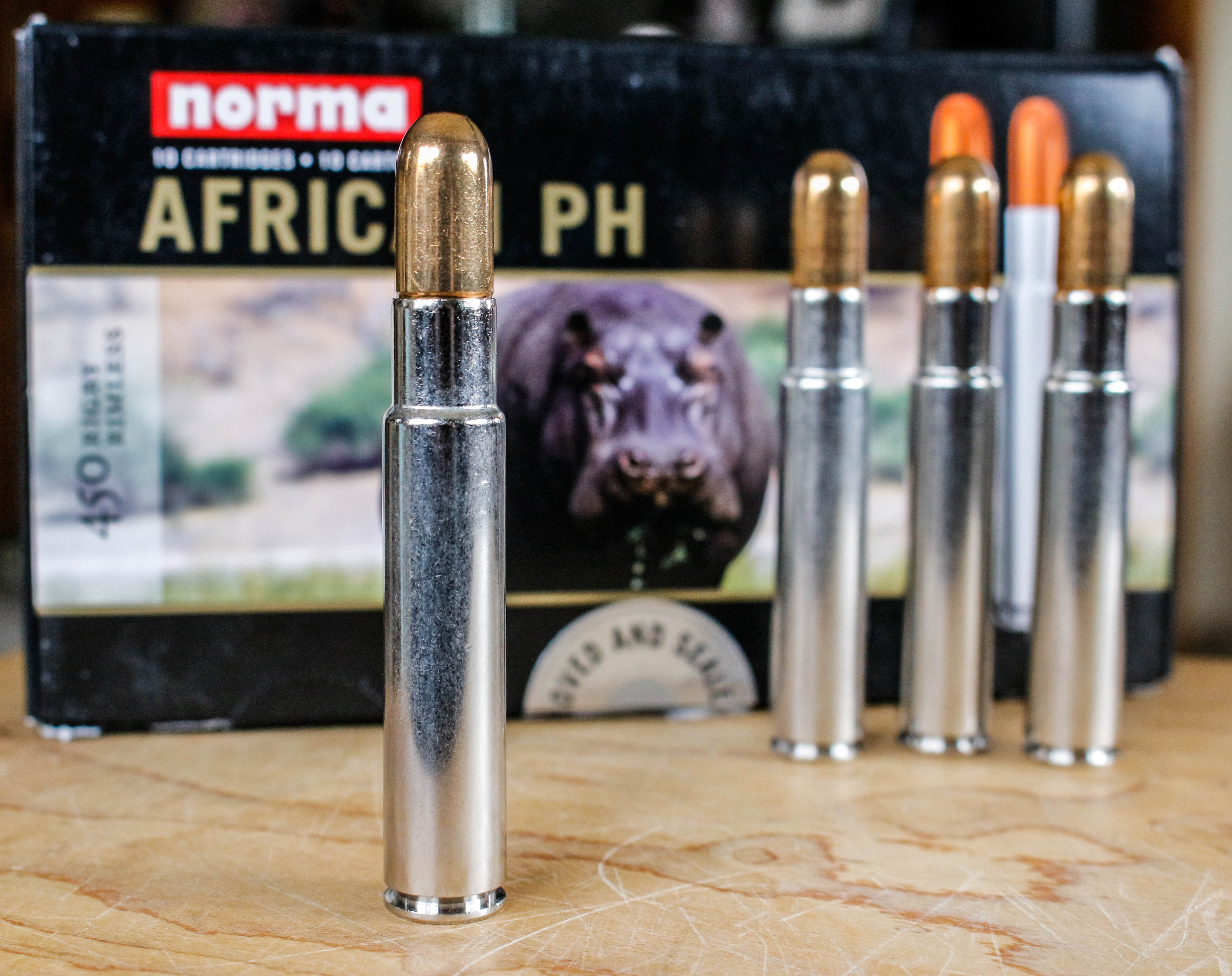 The  450 Rigby Rimless Magnum | Hunting