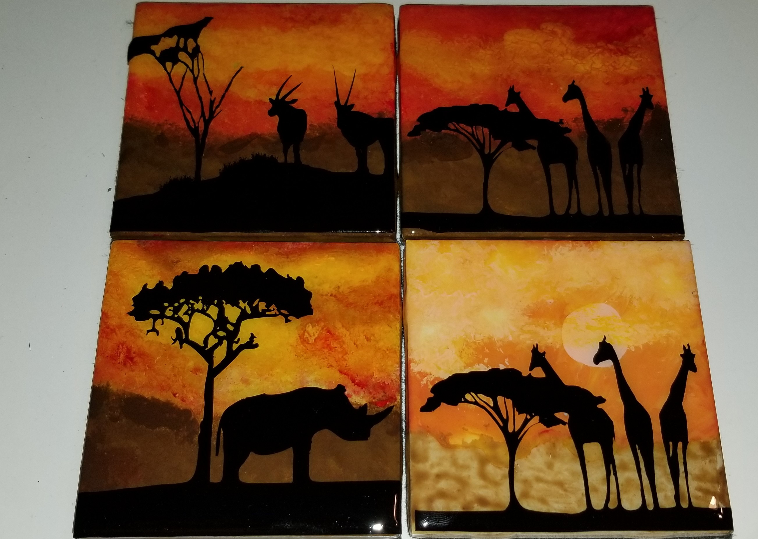 African set of four coasters.jpg