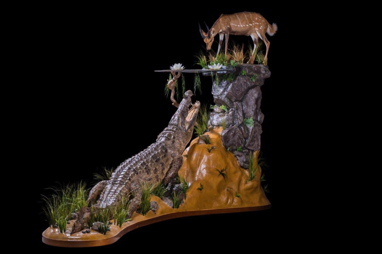 Crocodile, Bushbuck Fullmount Combination - HH157.jpg