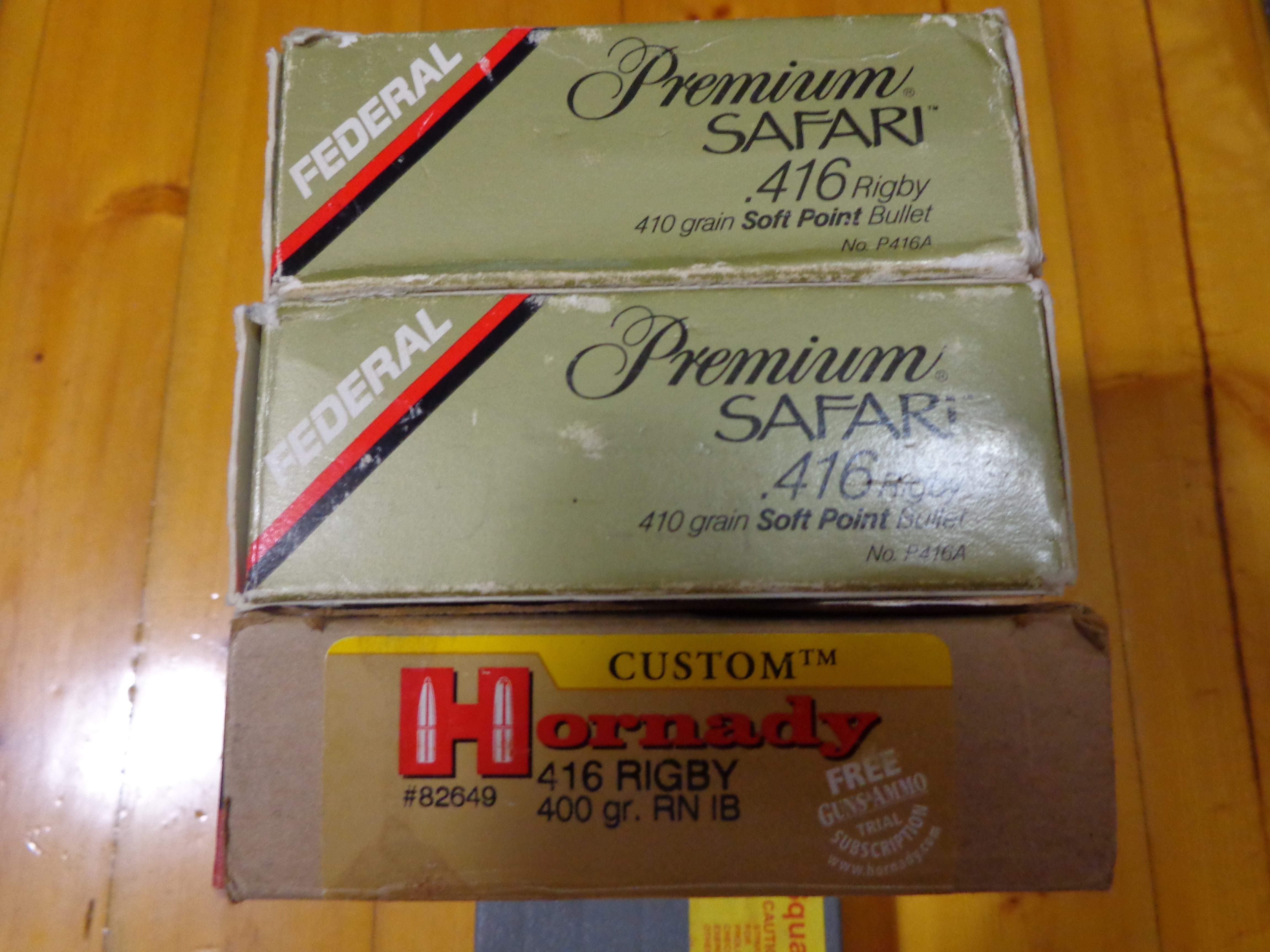 416 Rigby Ammunition For Sale | Hunting