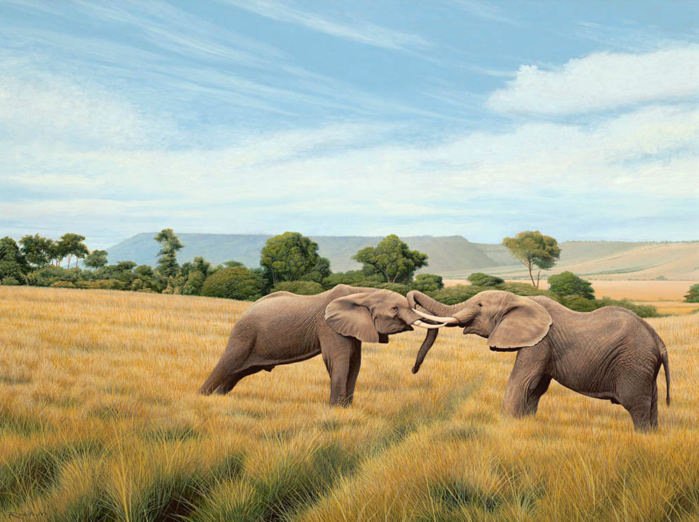 Elephants-on-the-Mara-Plain-oil-on-canvas-18x24-.jpg