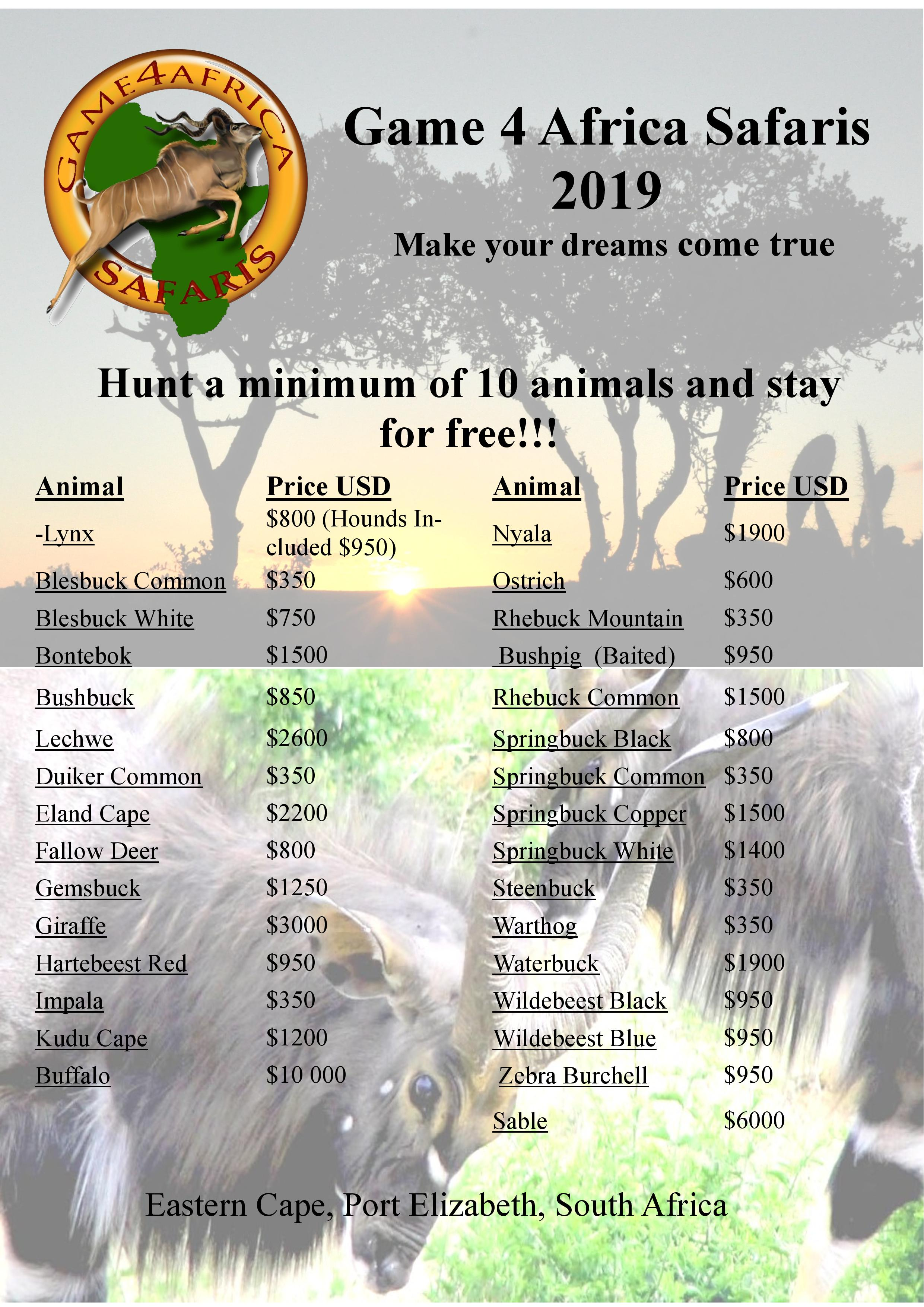 Hunt a minimum of 10 Animals and stay for free.jpg
