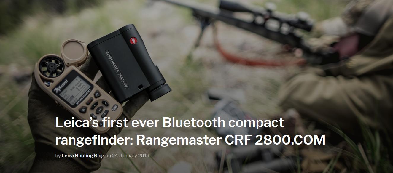 Leica's first ever Bluetooth compact rangefinder Rangemaster CRF 2800 COM.png