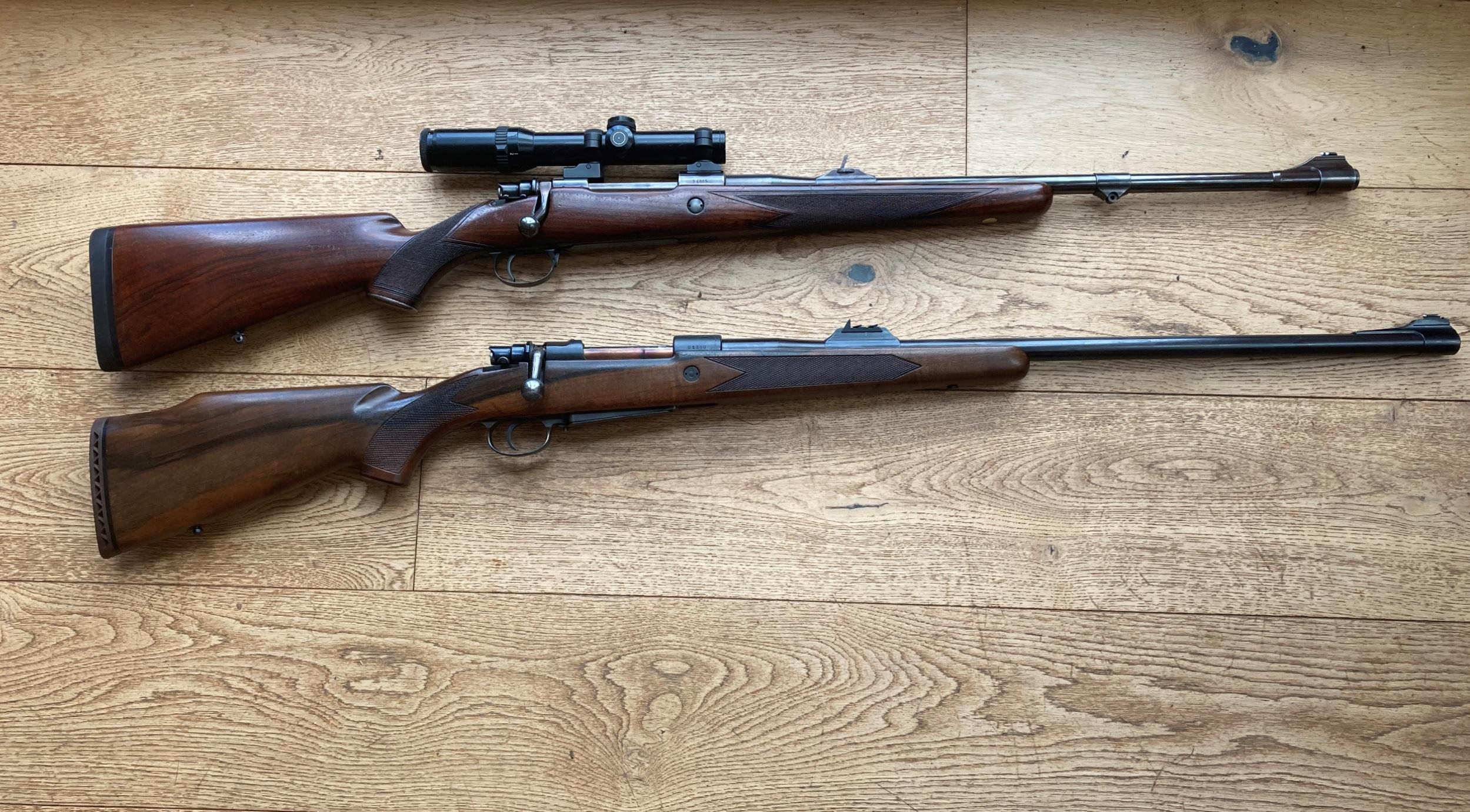 pair of African rifles.jpg