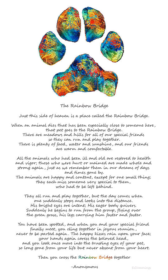 rainbow-bridge-poem-with-colorful-dog-paw-by-sharon-cummings-sharon-cummings.jpg