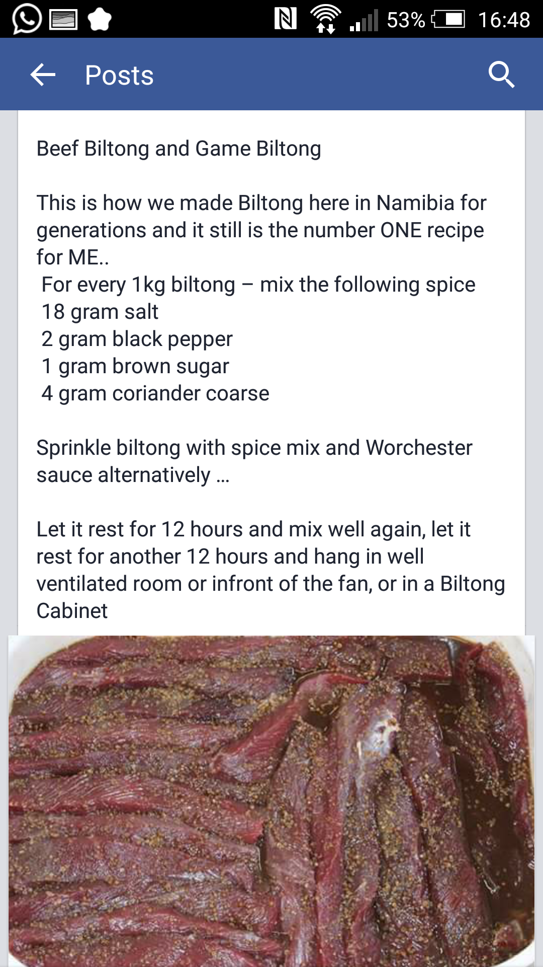RECIPES: Biltong Spice Recipes