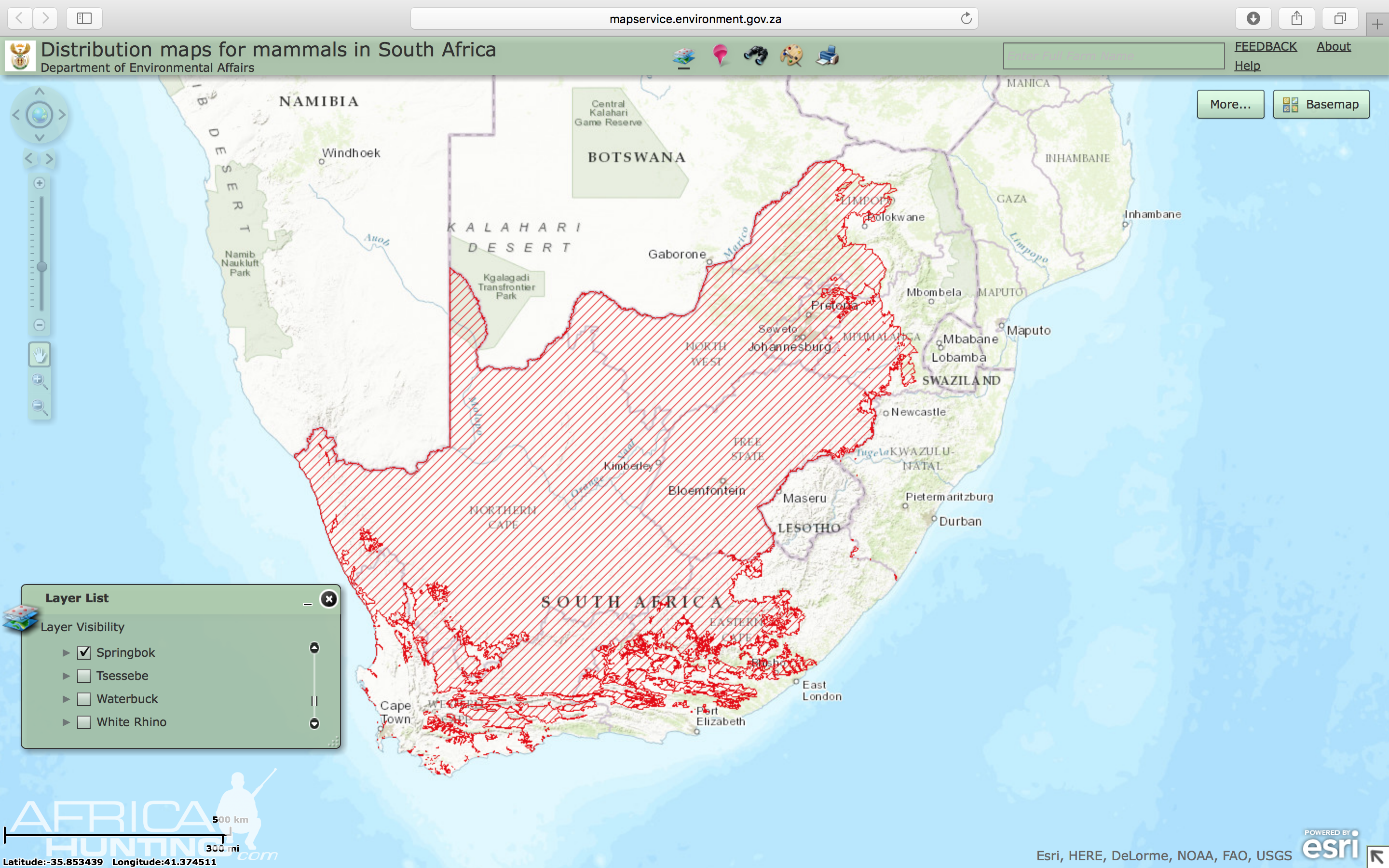 springbok-distribution-map-south-africa.png