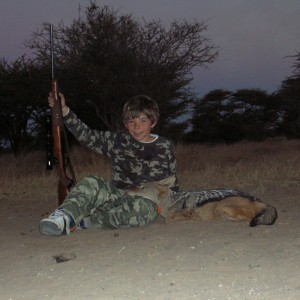 Jackal Hunting in Namibia