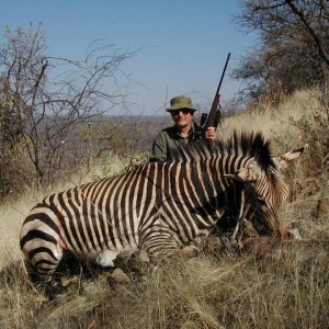 Hartmann Mountain Zebra Hunting in Namibia