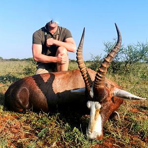 Hunting Blesbok in South Africa