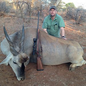 Hunt Eland in South Africa