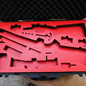 Top filler for Pelican Air 1615 case