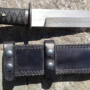 Masterful Forged Tanto