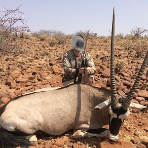 Hunt Gemsbok in Namibia