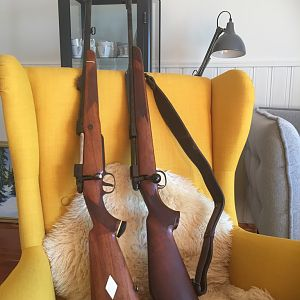 67 BRNO Safari in 375 H&H Rifle & Tikka Wildboar 6,5x55 Rifle